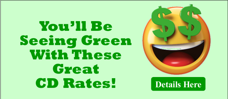 Seeing Green With These CD Rates